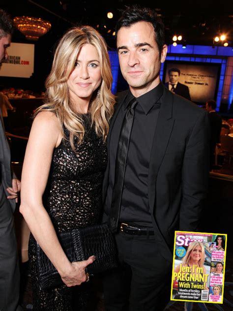 Jennifer Aniston Justin Theroux Pregnant | jennifer aniston pregnant with twins hollywood life