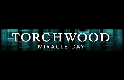 Torchwood Miracle Day Torchwood Miracle Day Doctor Who Tv