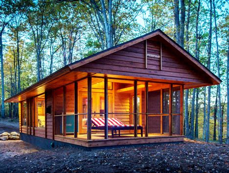 Cabin To Be Moved by Eco Friendly Tiny Cabin Can Be Moved And Placed Anywhere