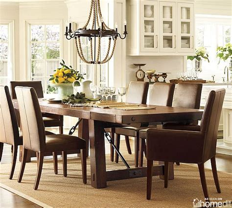 dinner table extendable benchwright dining table