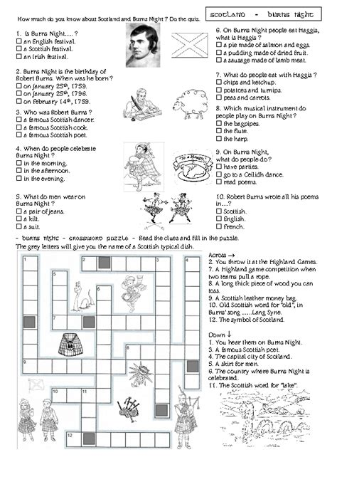 printable january quiz search results for january crossword worksheet