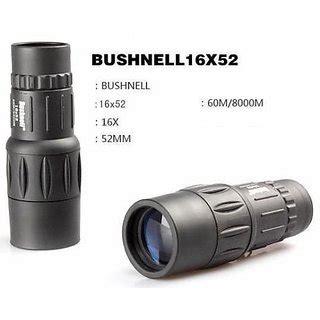 Teropong Monocular Bushnell 18x62 Dual Focus 1 branded bushnell monocular telescope 16x52 dual focus outdoor sport travel buy branded bushnell