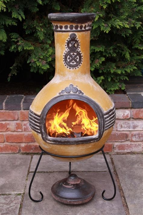 Chiminea Patio Chiminea Patio Fireplace Ideas To Stay Warm In The Outside