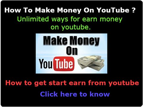 make money with youtube how i made an extra 1 187 66 how to make money on youtube unlimited ways to earn