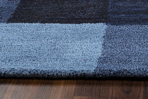 new zealand wool area rugs colours block pattern new zealand wool area rug in blue 5 x 8