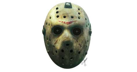 free printable jason mask friday the 13th printable mask freeware en download