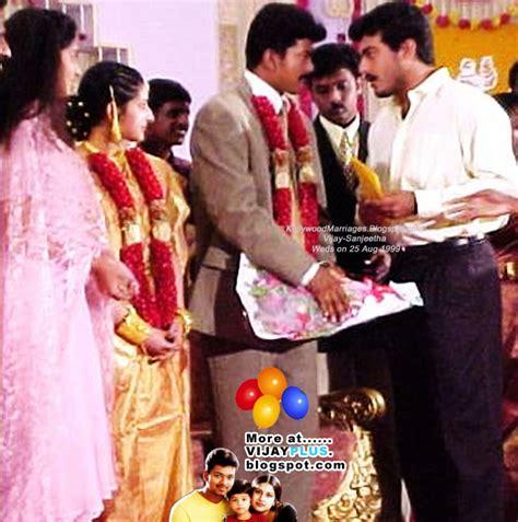 actor vijay sangeetha photos actor vijay marriage photos www pixshark images