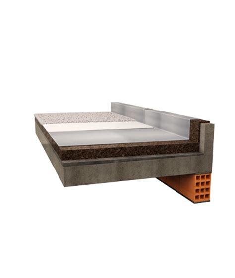 prodotti per isolare terrazzi isolamento copertura piana sughero corkpan applicazioni