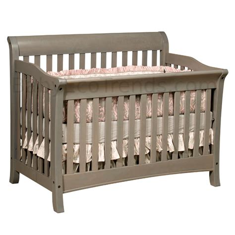 Amish Baby Cribs by Belmont 4 In 1 Convertible Baby Crib Made In Usa Baby