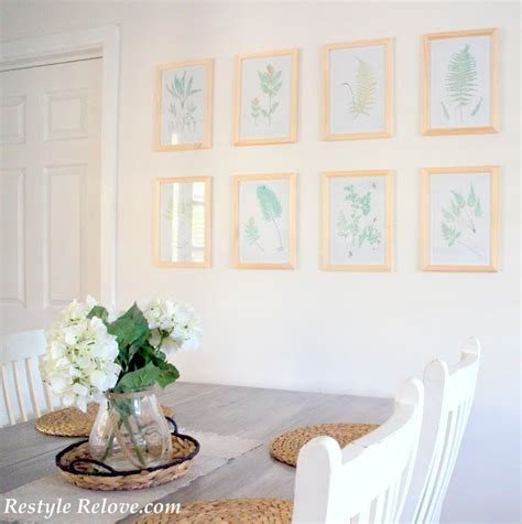 Botanical Dining Room Dining Room Botanical Wall Gallery