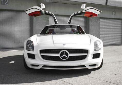 gull wing doors mercedes sls amg board