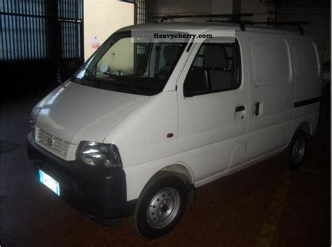 suzuki box truck suzuki carry 2005 box type delivery van high photo and specs