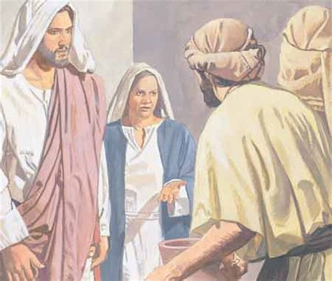 Bible Wedding At Canaan by New Testament Stories Chapter 12 The Wedding In Cana