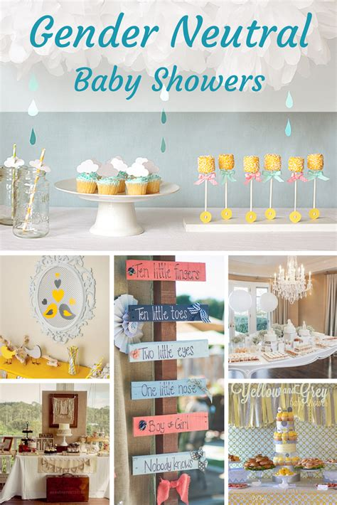 unisex baby showers baby shower themes non gender baby shower