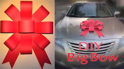 big bow how to easily make your own car bow the news wheel