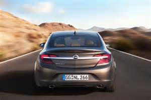 Opel Lineup Feature Spotlight 2014 Opel Insignia And Its Updated