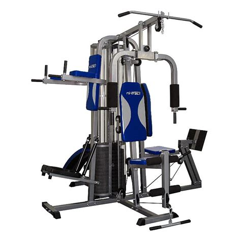 home multi station fitness exercise equipment