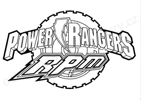 power rangers rpm coloring pages rpm free coloring pages