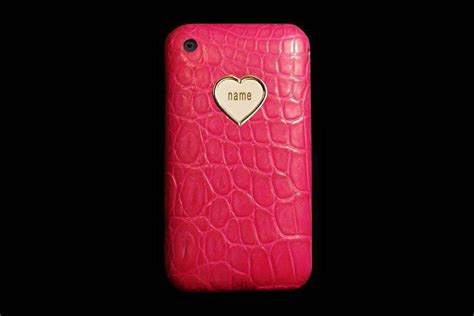Mj Leather Pink mj luxury iphone gold leather