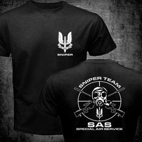 Spesial Kaos Print Umakuka Snipper aliexpress buy sas special air service army special forces sniper t shirt s