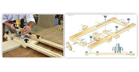 woodworking jig plans free router dado jig plans woodarchivist