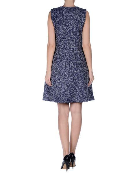 Bo 098 Shirt 2 Tones Purple lyst dress in purple