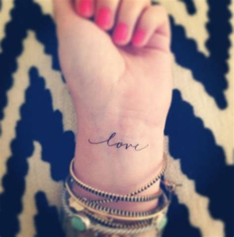 love word tattoo designs 100 ideas for someone special