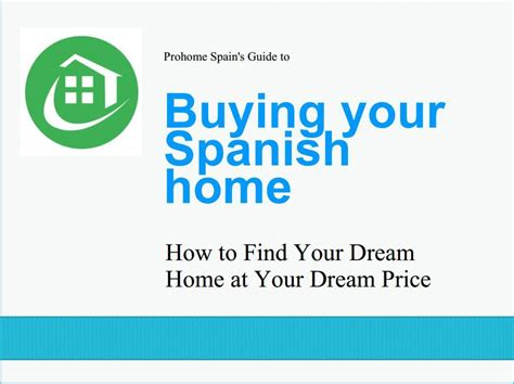 how to buy a house in spain buying a house in spain