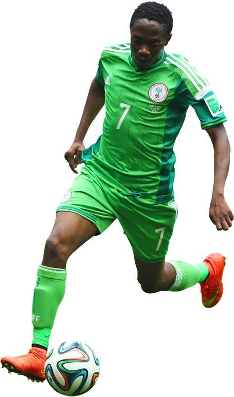 Musa Nigeria Ahmed Musa Football Render 5332 Footyrenders
