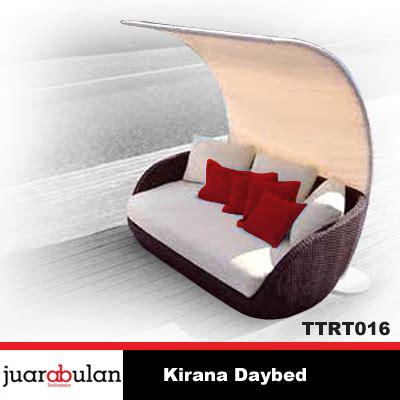 Sofa Bed Rotan harga jual kirana daybed sofa bed rotan sintetis ttrt016
