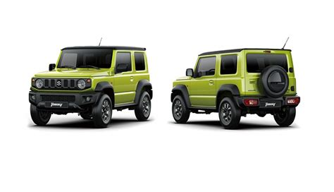 2019 Suzuki Jimny by All New 2019 Suzuki Jimny Suzuki Jimny Officially