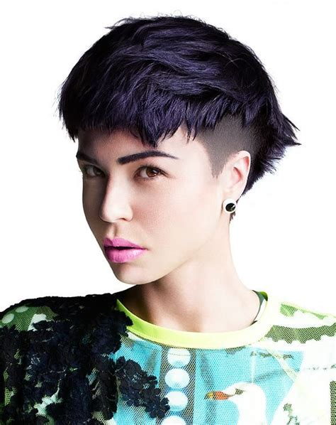 pixie cut with razor comb 67 best images about hair styles on pinterest comb over