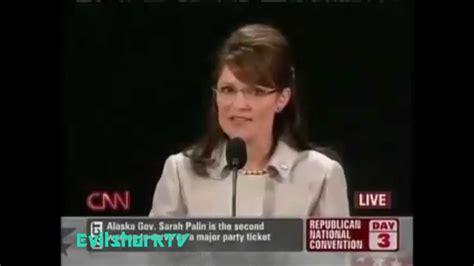sarah palin fuckable youtube youtube poop sarah palin dumb speech youtube