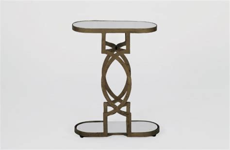 drinks table occasional drink table mirrored natasha table
