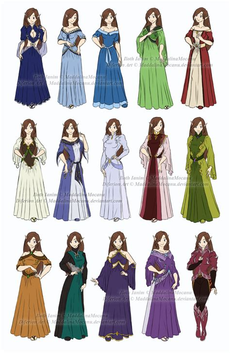 dress and clothes designs p1 iloth ianim by