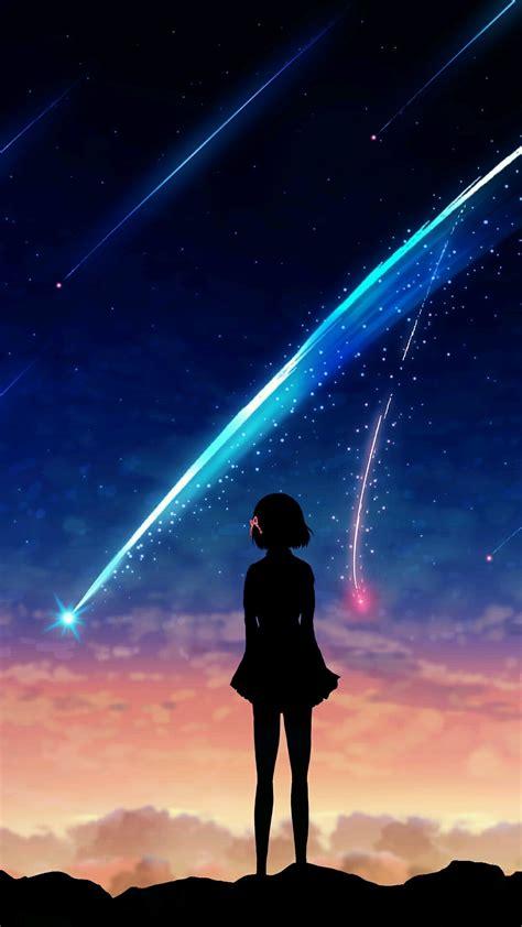meteor girl silhouette  iphone