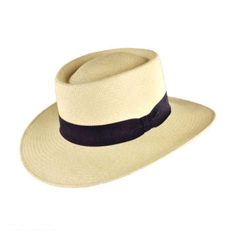 Hat L by Jaxon Hats Cuenca Panama Straw Gambler Hat Straw Hats