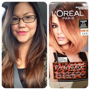 preference ombre on hair mschikee l oreal preference wild ombre colouring kit a
