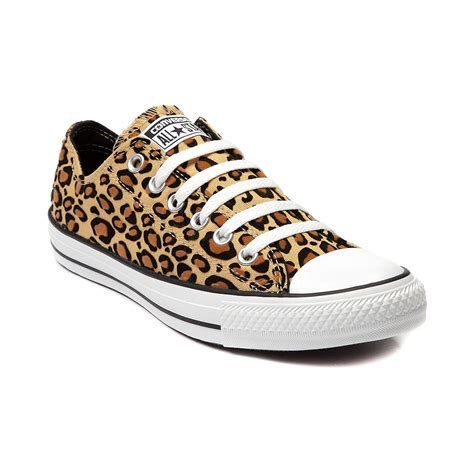 leopard sneakers converse all lo sneaker in leopard shi by journeys
