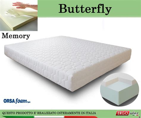 materasso 160x195 materasso memory mod butterfly 160x195 anallergico