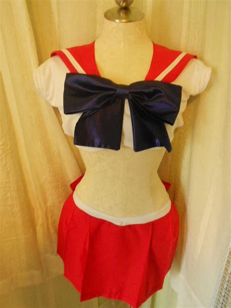 Sailor Costume Set sailor mars complete costume set by happysak on deviantart