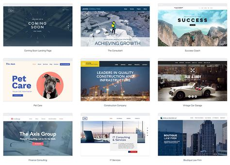 44 Free Responsive Html5 Business Templates For Startups 2019 Colorlib Wix Business Website Template