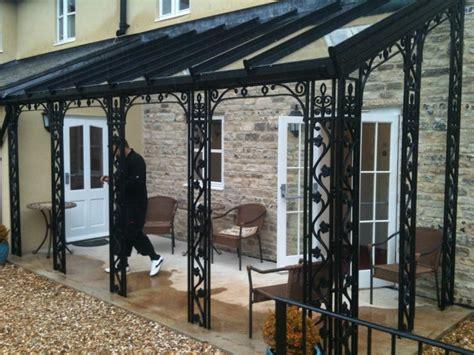 veranda metall wrought iron verandas and porches
