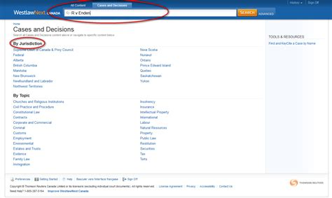 How To Search On Westlaw How To Find Cases By Citation Sfu Library