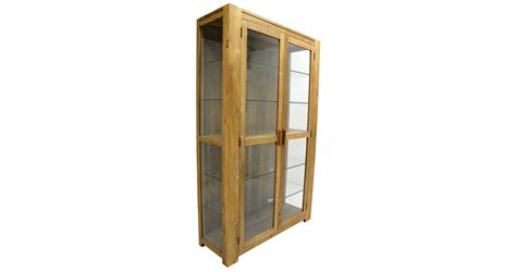 Custom Glass For Cabinets by Custom Made Cabinet Teakwood With Glass