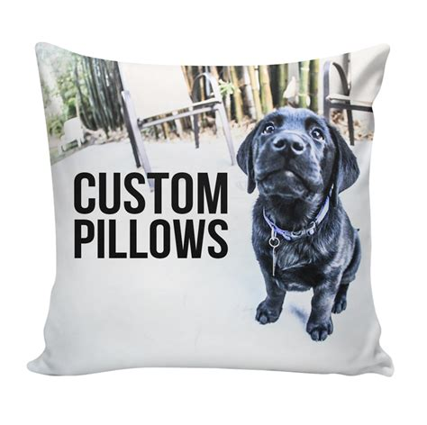 Custom Pillows by Custom Pillow Using Your Photos Patterns Ink