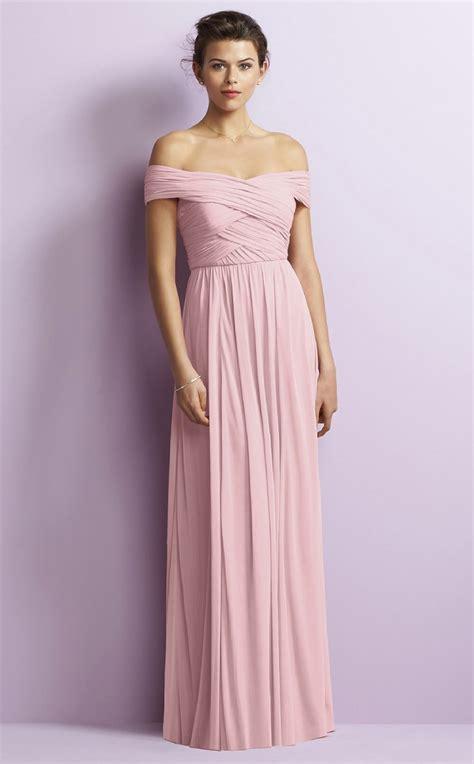 Shoulder Chiffon Dress floor length chiffon the shoulder bridesmaid dress
