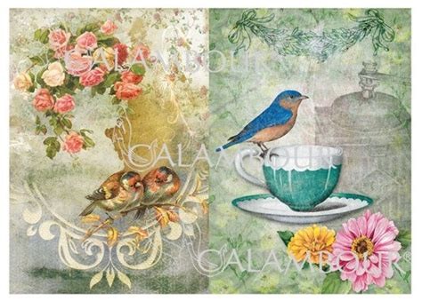Decoupage Objects - 314 best images about decoupage 3 birds on