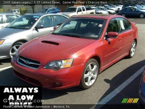 2005 subaru legacy 2 5 gt limited long term test verdict garnet red pearl 2005 subaru legacy 2 5 gt limited sedan charcoal black interior gtcarlot