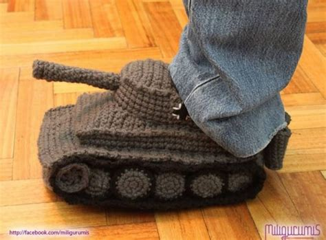 crochet pattern for army tank slippers army tank crochet slippers panzer pattern best ideas